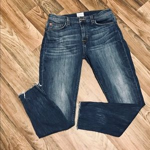 Hudson Jeans Nico mid rise cropped Jeans